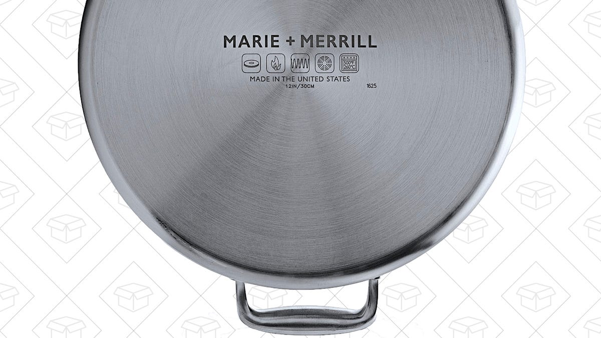 Marie + Merrill Pans Bring All of the Clad With None of the Middlemen