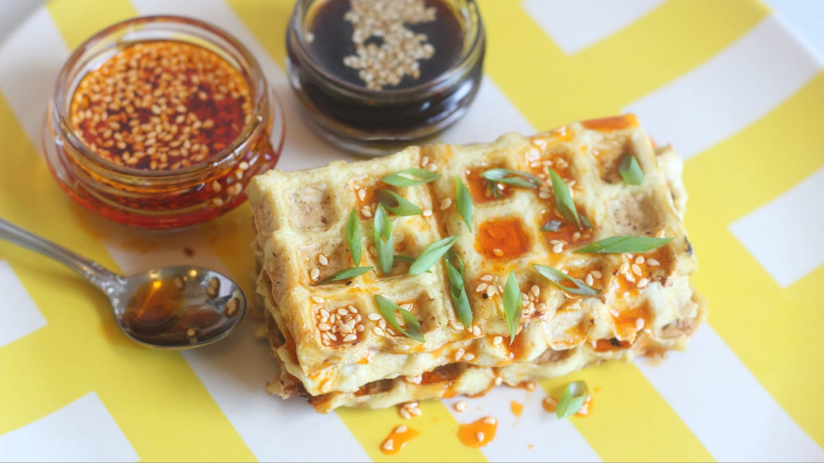 Waffled Tofu Absolutely Rules