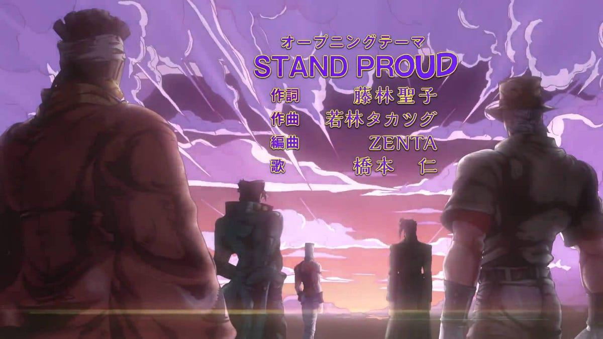 Op Ed A Day Stand Proud Jojo S Bizarre Adventure