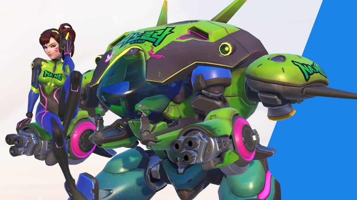 Overwatch Streamers Are Pretending To Be In The D.Va Promotion