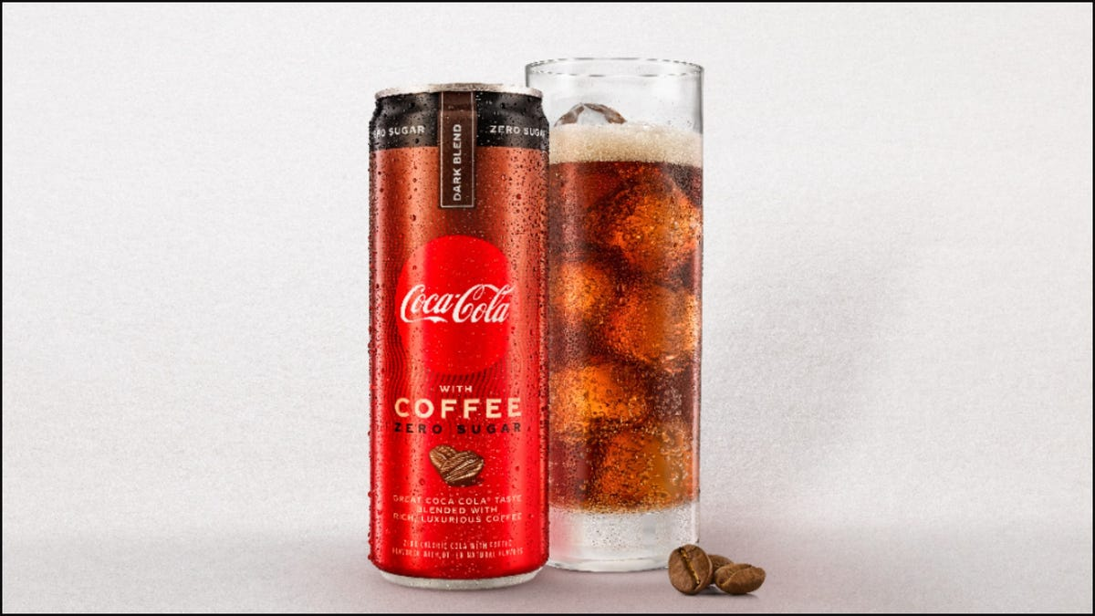 Coca-Cola with Coffee Has Arrived