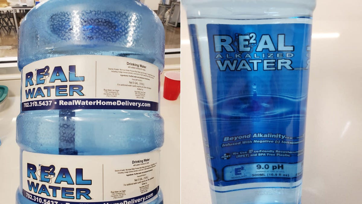 An Alkaline Water Brand Is Making People Seriously Ill in Nevada, Officials Say