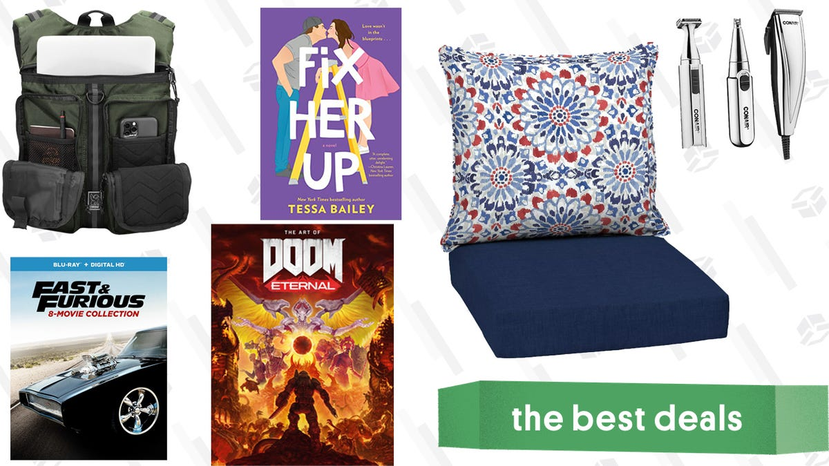 Sunday's Best Deals: DOOM Eternal Artbook, Romance Novels, Haircut Kits, and More