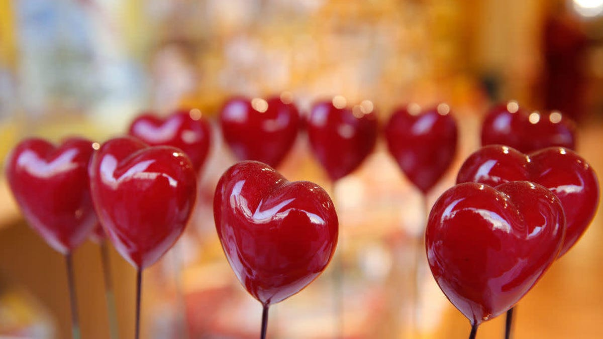 Map of top Valentine's Day candy by state leaves us worried about California