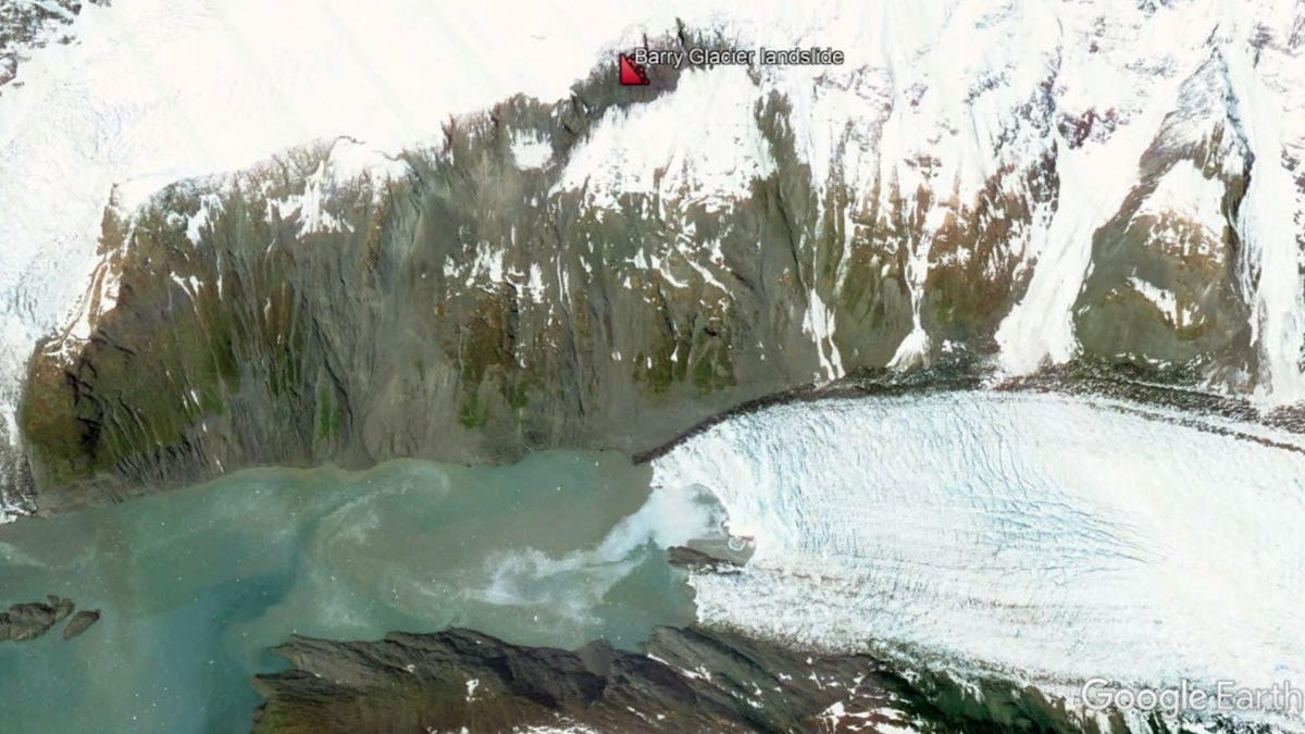 Looming Landslide in Alaska Could Trigger Enormous Tsunami at Any Moment, Scientists Warn