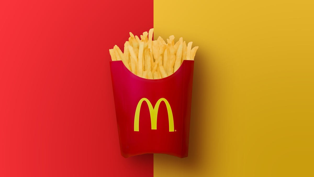 Gorge Yourself on McDonald's Fries Every Friday, From Now Until Summer