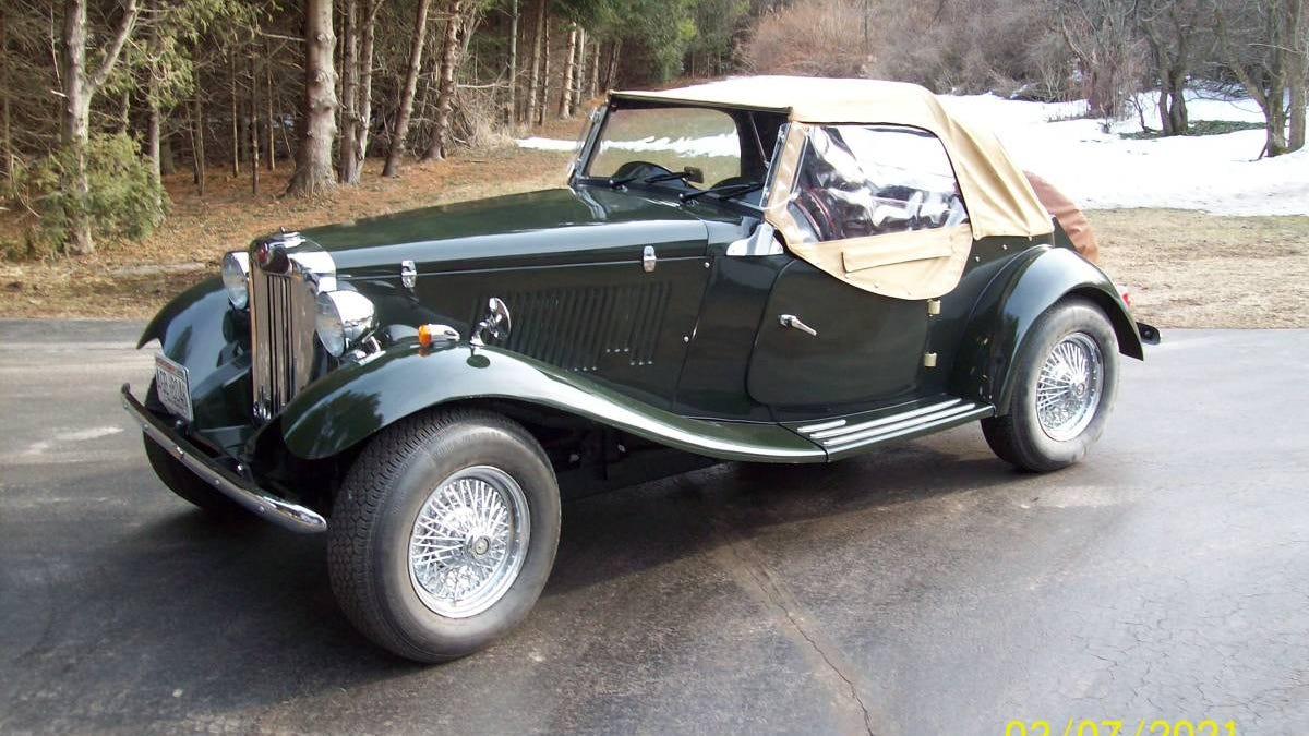 AT $8,000, Is This Fiberfab MG TD A Kit Car That's A Complete Steal?