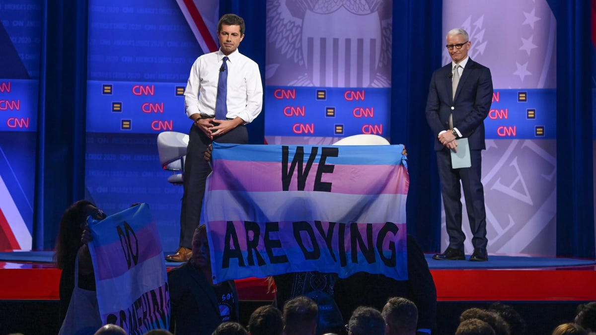 Making Trans Lives Matter at the CNN LGBTQ Town Hall