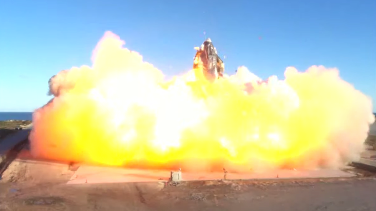 Watch: SpaceX Launches Starship Prototype [Update: It Exploded]
