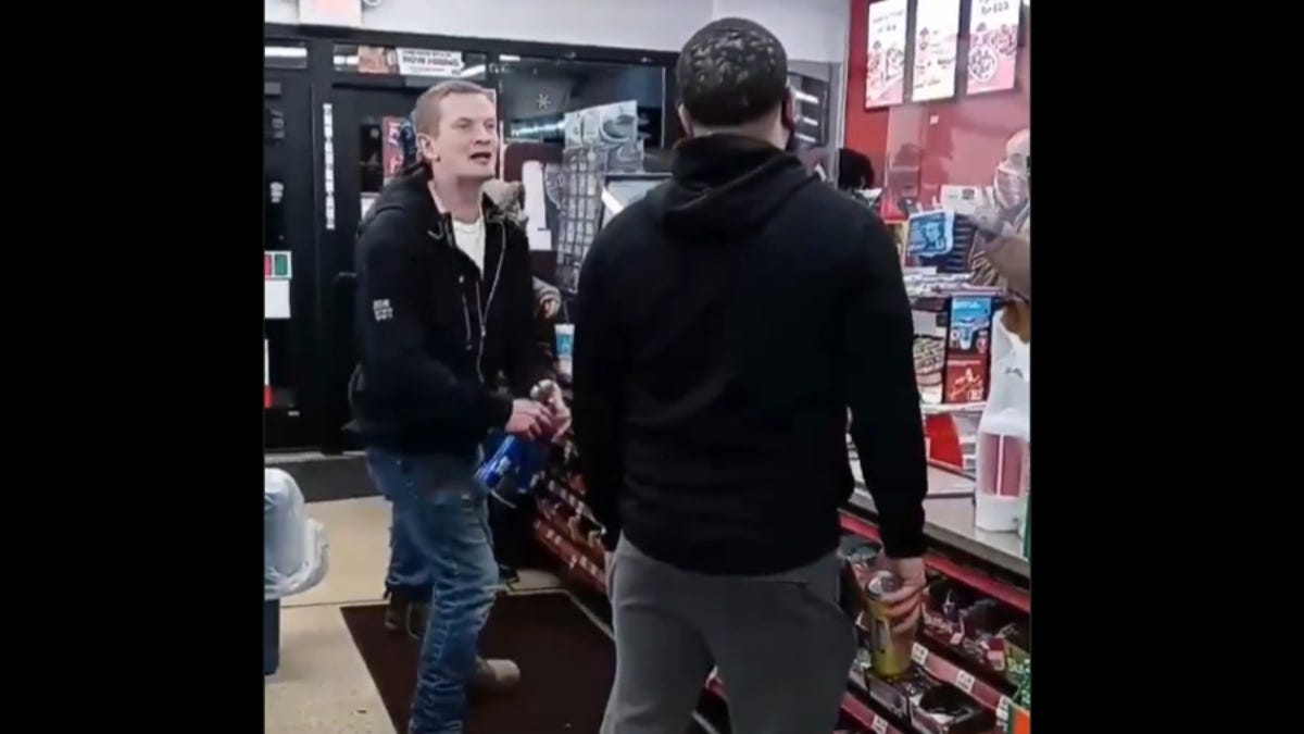 Man Dubbed 'Mr. TeaKO' After Smacking N-Word Spewing White Man With Twisted Tea Can Tells the Whole Story
