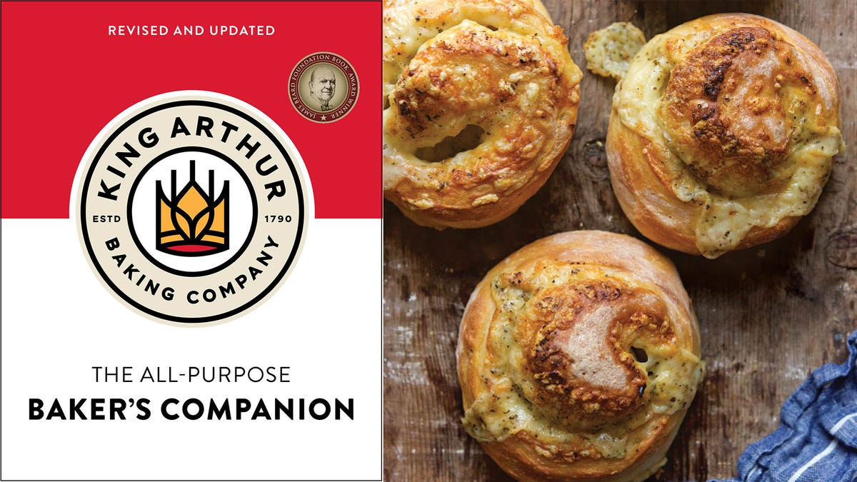 King Arthur's All-Purpose Baker's Companion is like having a master baker at your side