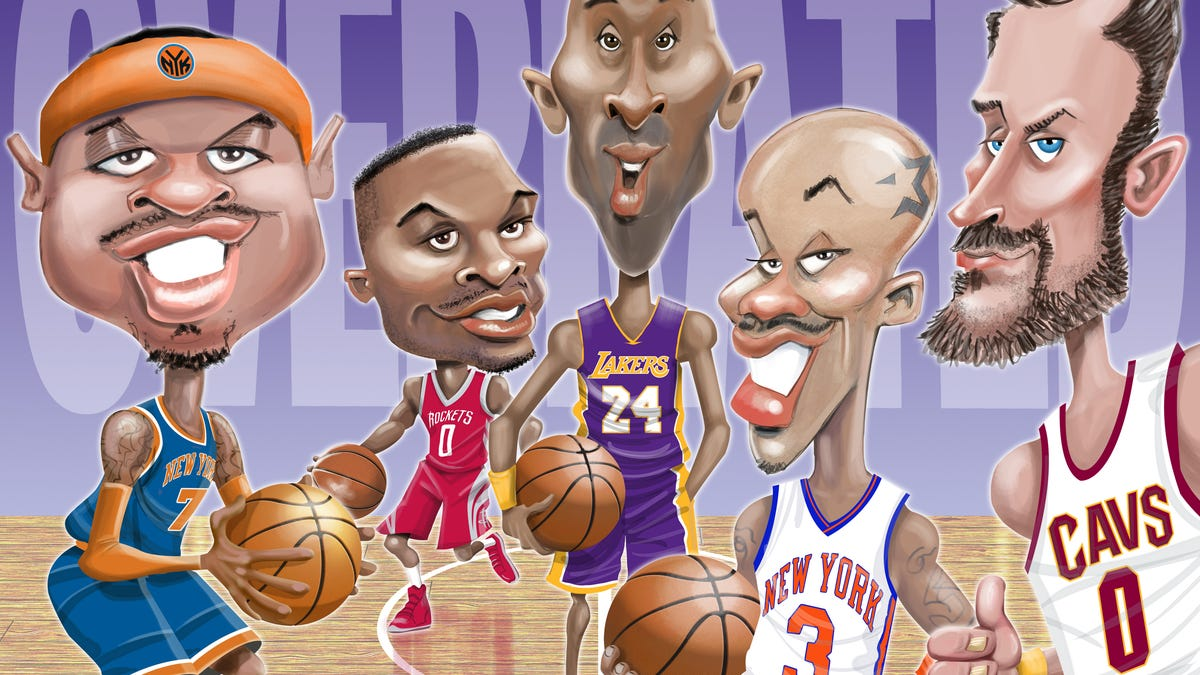 They Were Great, But Not That Great: The 10 Most Overrated Players In The NBA Since 1990