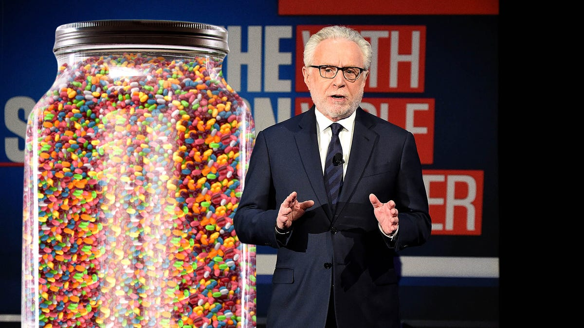 Wolf Blitzer Announces Grim Milestone As Number Of Covid-19 Deaths Surpasses Jelly Beans In Jar
