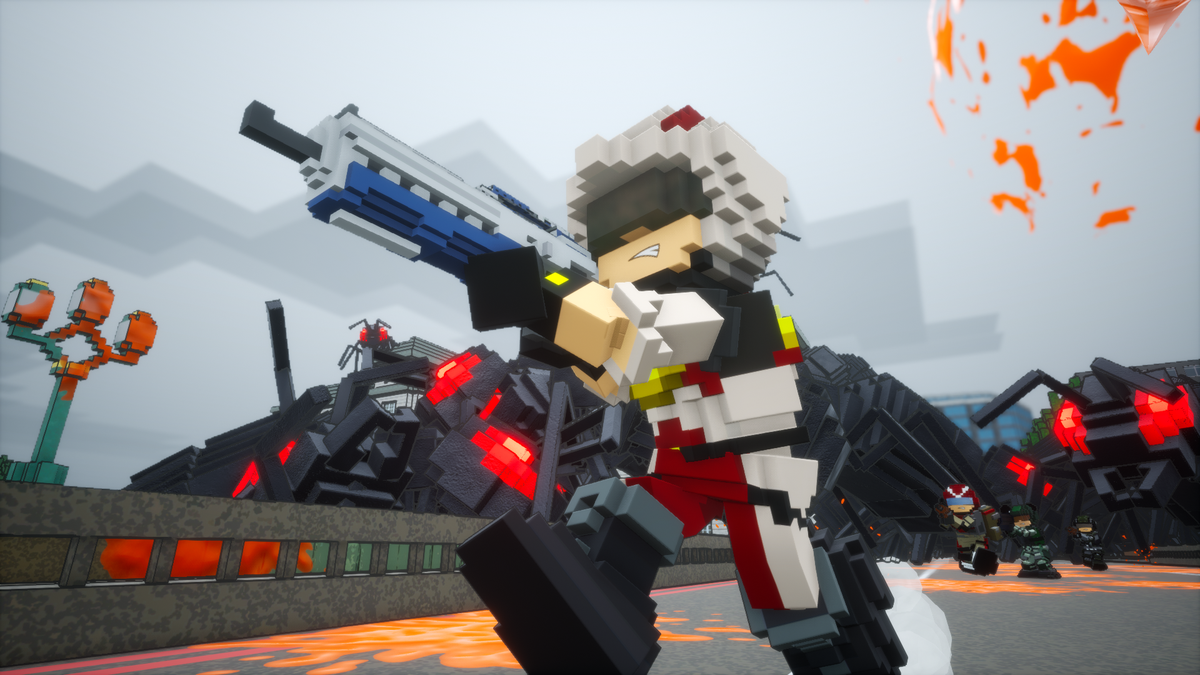 The Beautifully Blocky Earth Defense Force: World Brothers Launches Worldwide May 27