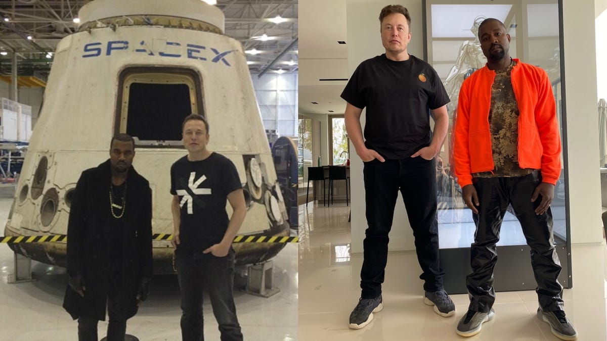 Elon Musk empieza a arrepentirse de apoyar a Kanye West como candidato a presidente
