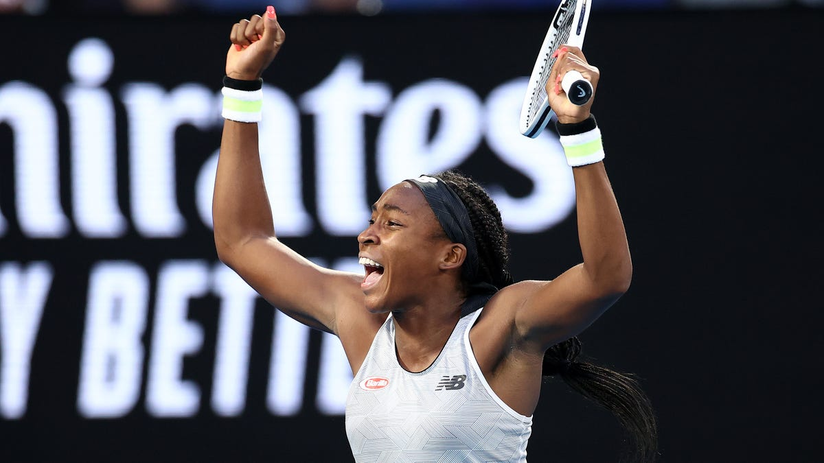 Coco's Reign: Up-and-Comer Upsets Defending Australian Open Champ Naomi Osaka; Serena Williams Falls in Openin