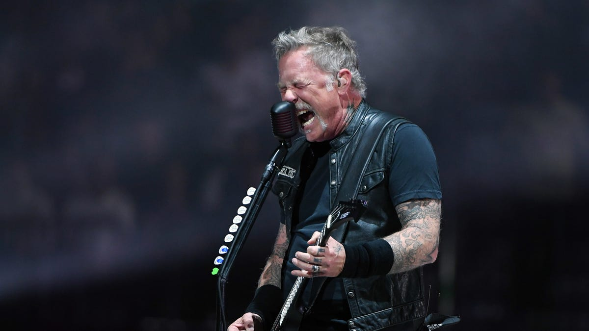 Twitch censors live Metallica concert with dorkiest music imaginable - The A.V. Club