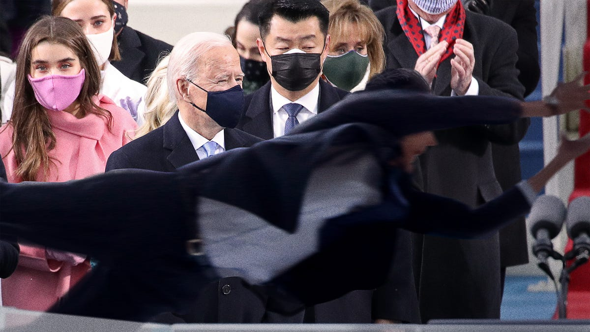 Secret Service Agent Heroically Dives In Front Of Strong Breeze That Could Have Killed Biden
