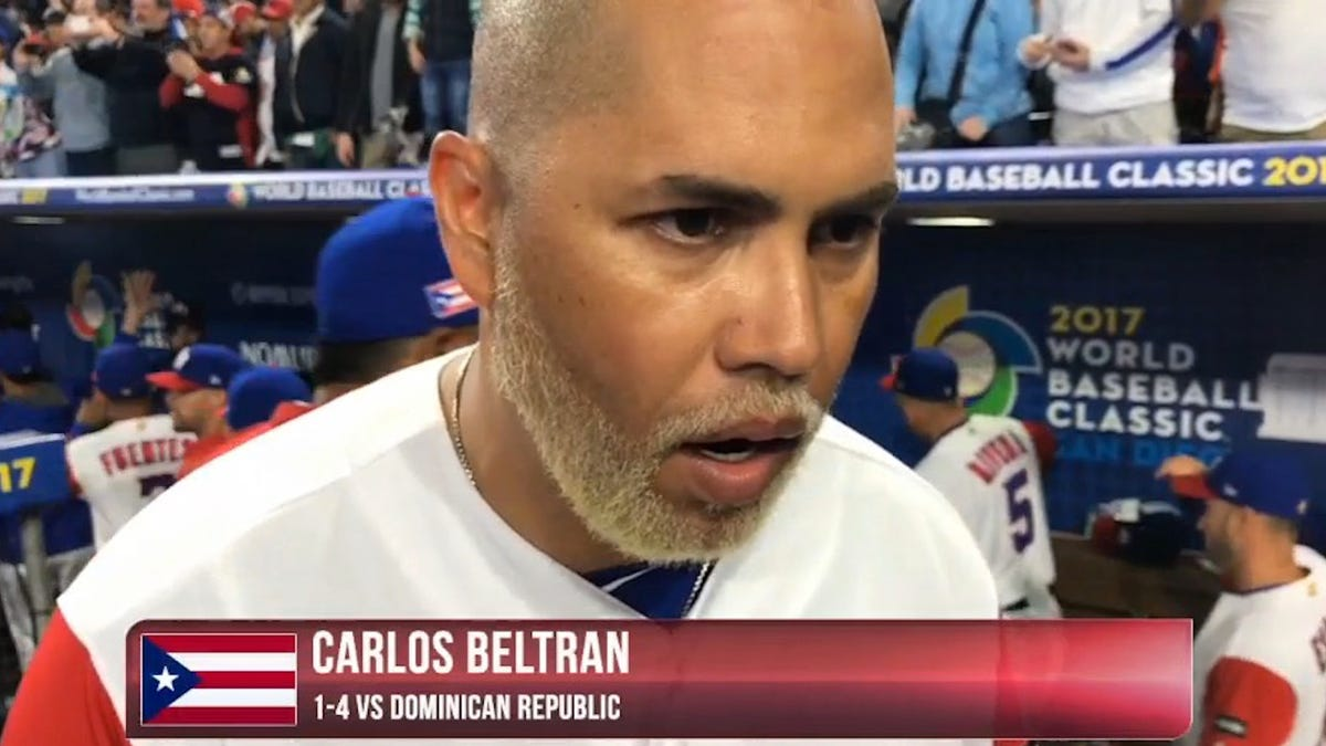 Respect Carlos Beltran S Blonde Beard