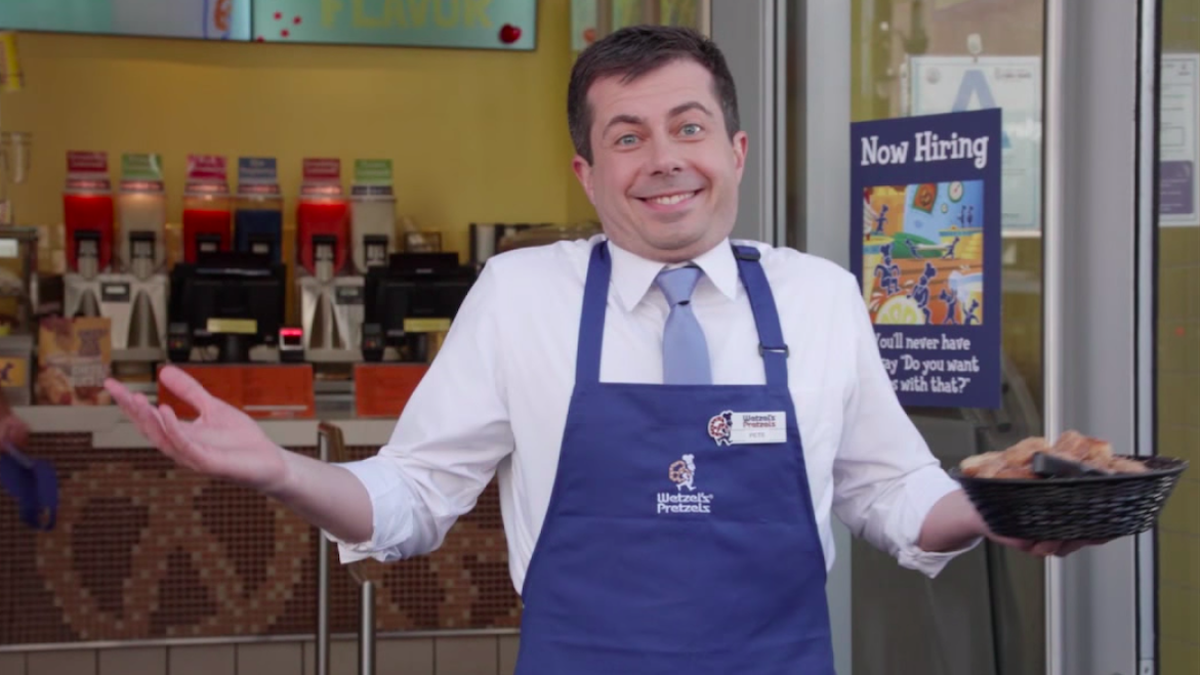 Congrats to Pete Buttigieg, who has achieved his dream of becoming famous