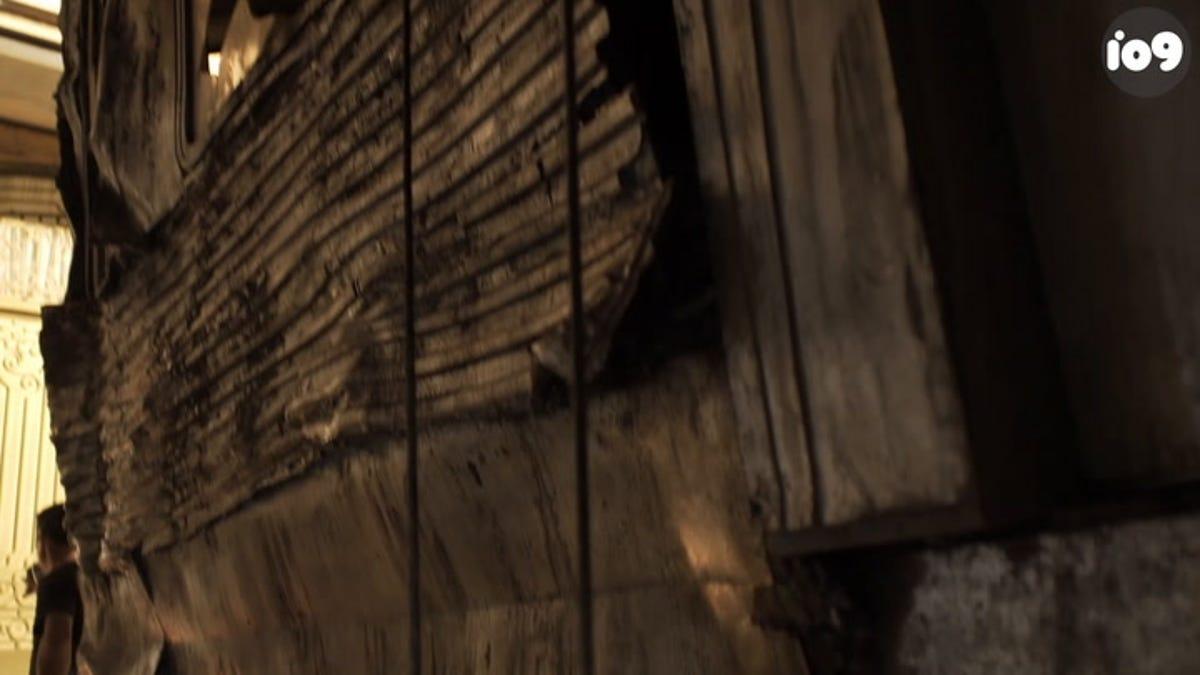 Watch an Actual Train Crash Behind Michael Fassbender on the Set of X-Men: Dark Phoenix