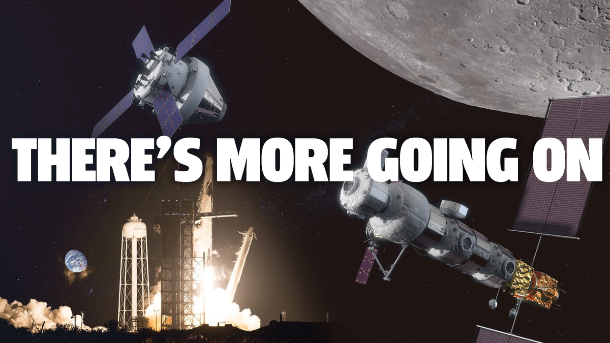 SpaceX Launches Second Crew To Space Station But There's Even More Exciting Space Stuff To Be Excited About That Has Nothing To Do With Space Karen