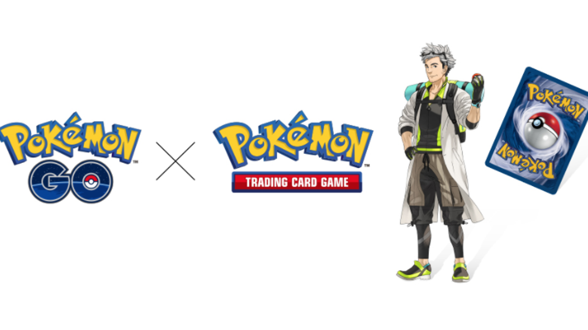 Pokémon Go's Professor Willow Is Coming To The Pokémon Card Game