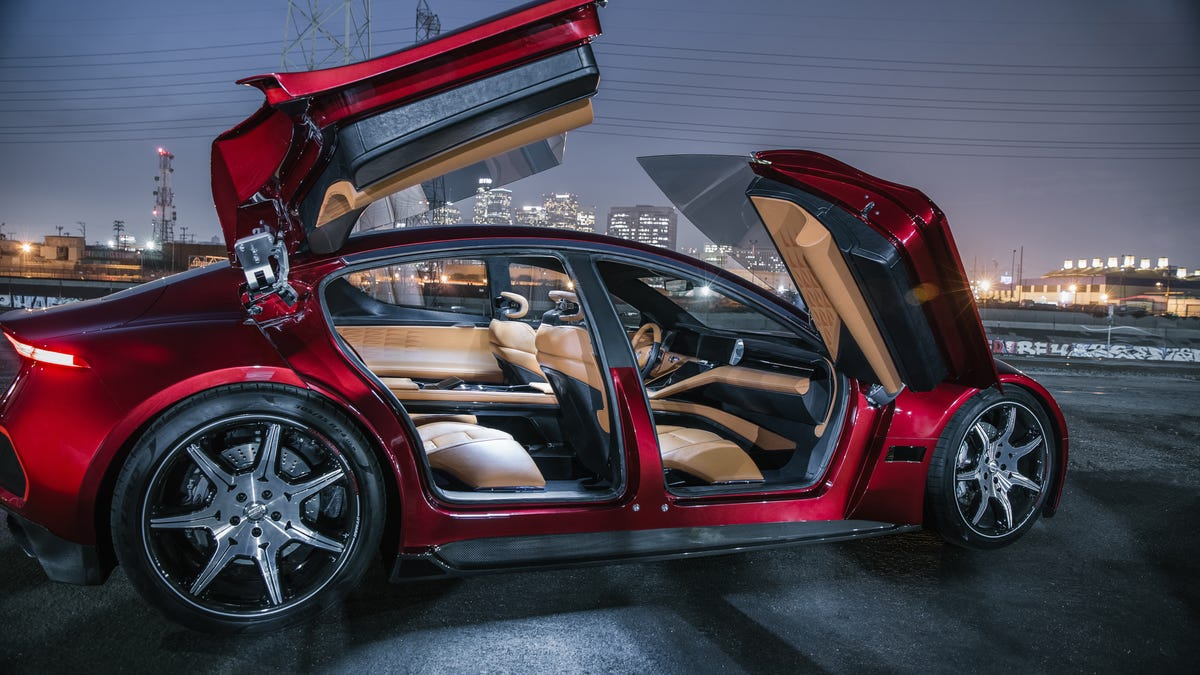 Fisker's New Electric Car Bet Will Come Down To The Battery—And Those Doors