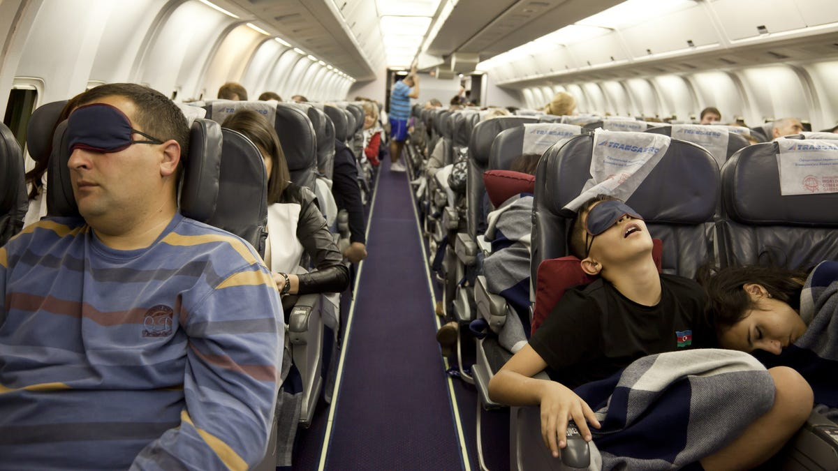 What's the Best Way to Sleep on a Flight?