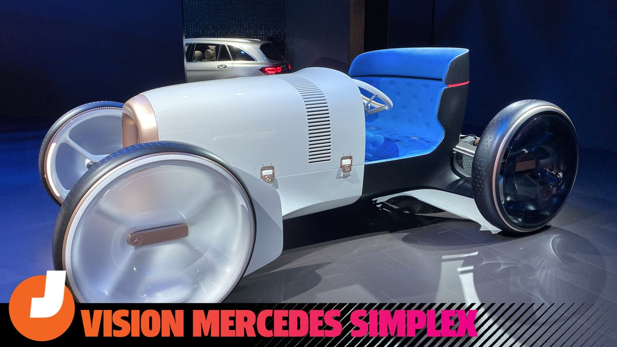 Mercedes' Concept Car Is A Futuristic Hot Rod Based On A Car Over A Century Old
