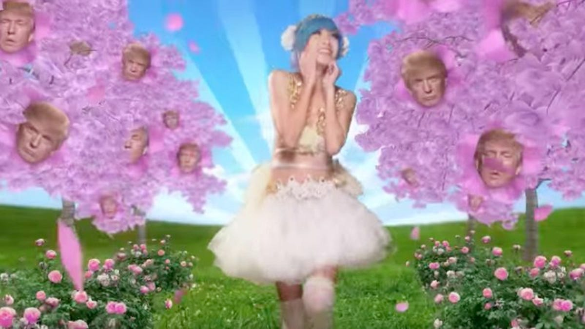 Donald Trump is cuter than a pig in boots in this kawaii commercial