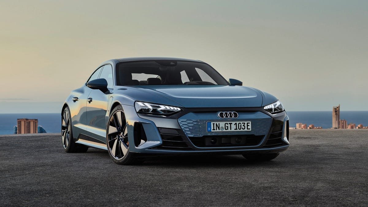 Audi's E-Tron GT Is A Slightly Cheaper, More Comfortable Taycan