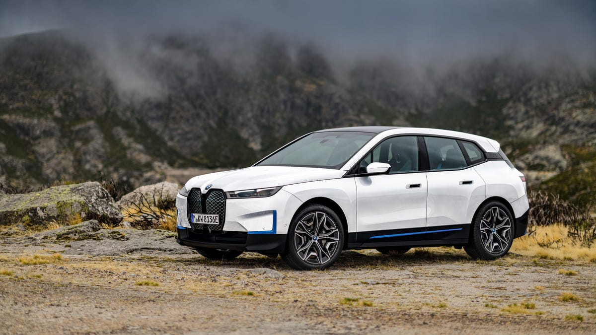 BMW iX Electric Crossover Is Coming In 2022 Starting At $85,000