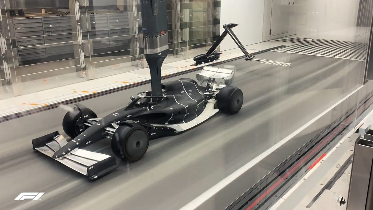 Formula One Wants To Ban Wind Tunnels And That Sounds Like A Great Idea