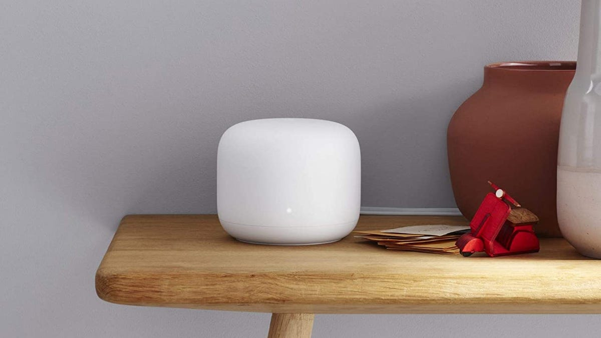 Save $60 to Cover Your Home With Google Nest WiFi Coverage