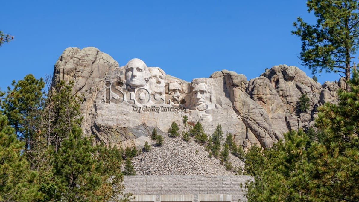 Incredibly Frustrating: A Watermark Has Appeared Over Mt. Rushmore