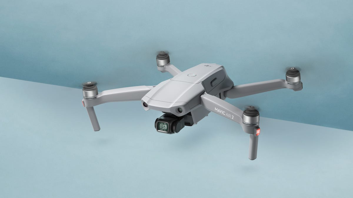 DJI Claims the Mavic Air 2 Is Its Smartest Drone Yet But It's Definitely Not Its Lightest