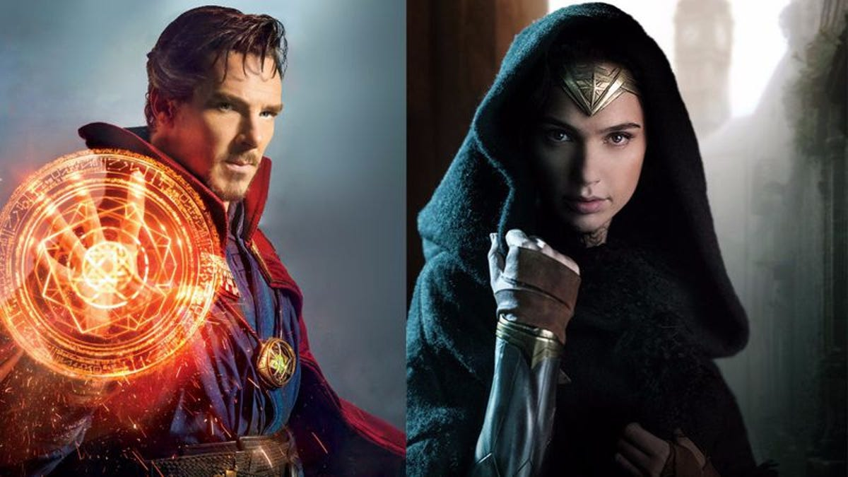 Go see Doctor Strange to get another look at Wonder Woman