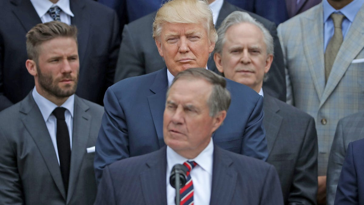 If Bill Belichick has any integrity, he'll turn down Trump's Medal of Freedom