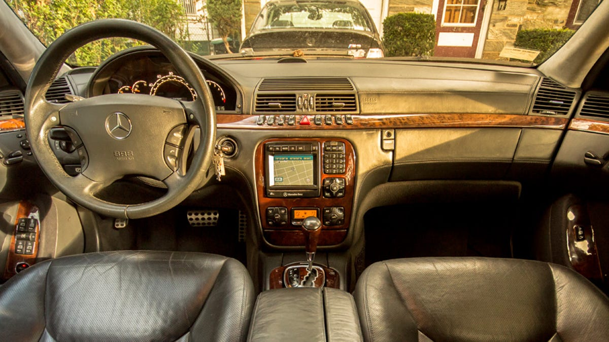 MERCEDES-BENZ W220 S430 S500 S600 LEFT FRONT A PILLAR TAN