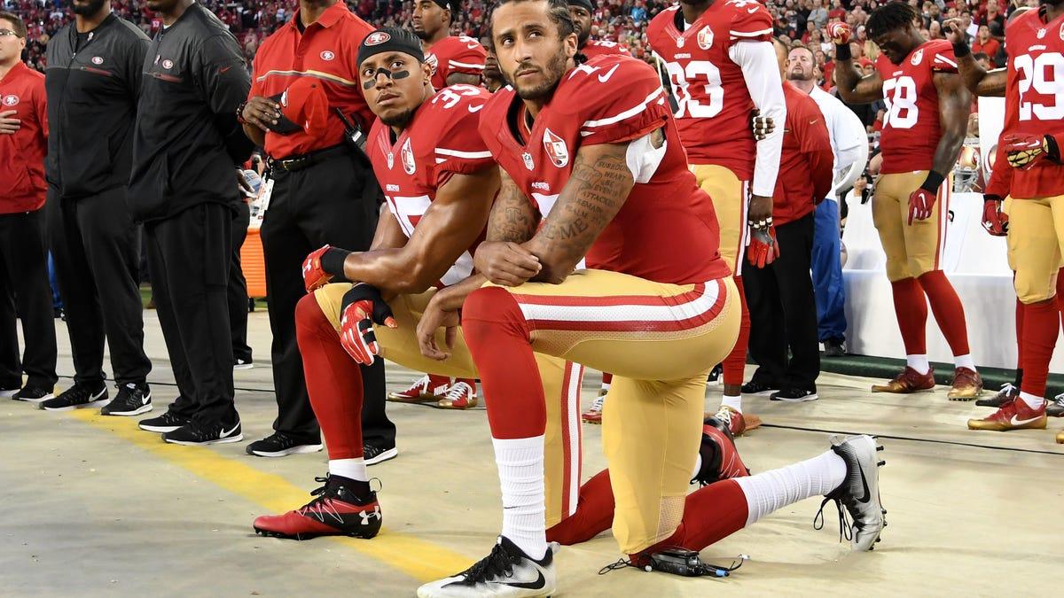 NFL Commissioner Roger Goodell Sheds White Tears for Colin Kaepernick: 'I Wish We Had Listened Earlier'