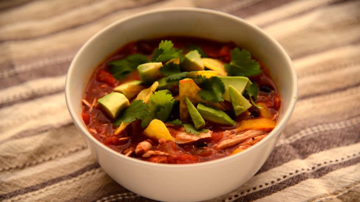 The best use for stale tortillas is soup