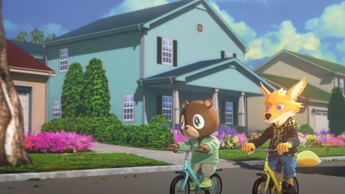 Kanye West e Kid Cudi estão fazendo uma série animada 5