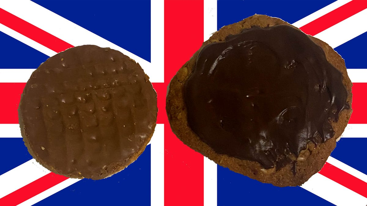 The Great Biscuit Fake Off: Homemade Chocolate Hobnobs