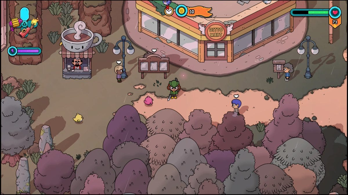 The Swords Of Ditto Is A Wonderful Remix Of The Original Legend Of Zelda