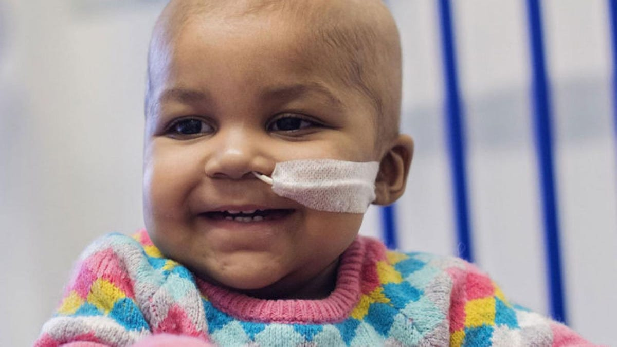 A Groundbreaking Gene-Editing Therapy Eliminated Cancer in Two Infants