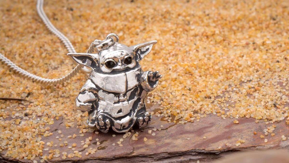 This Baby Yoda Necklace Will Reach Right Into Your Heart