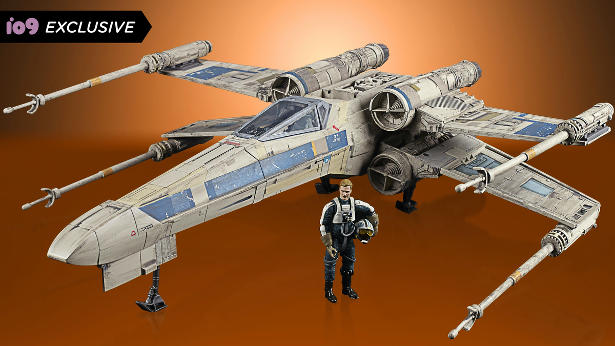 Rogue One's Blue Leader Soars Into Hasbro's Star Wars Figure Line