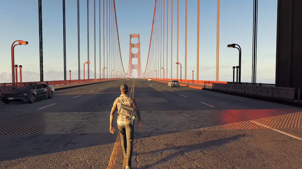 YouTuber Takes Beautiful Walks Across Huge Video Games