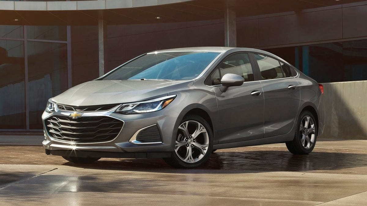 Here S How Much Interest Dropped For Gm S Sedans And Small Cars